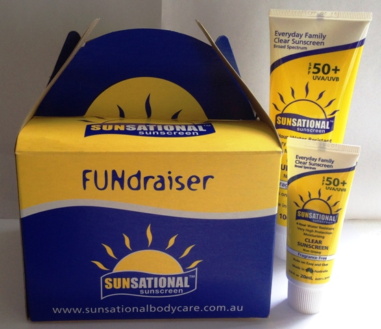 Fundraising Sunscreen